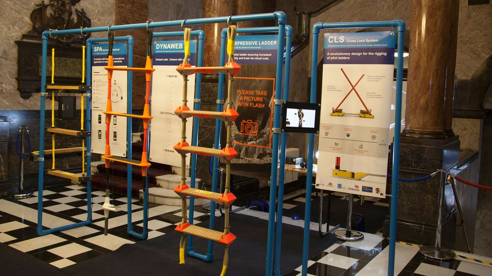 Prototypes for Redesigned Pilot Ladders