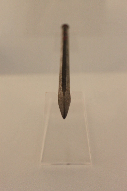 Hepworth's chisel, on display at Tate St Ives