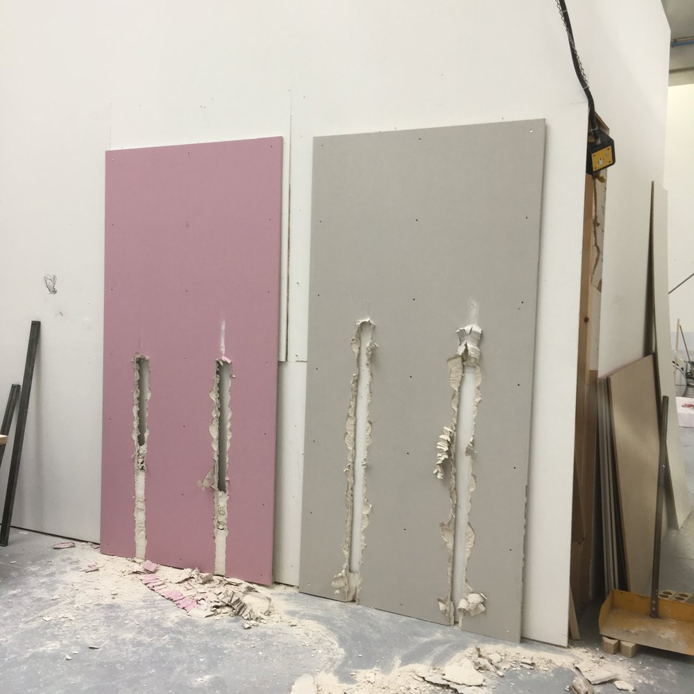 Couple of Lines (Pink & Grey)