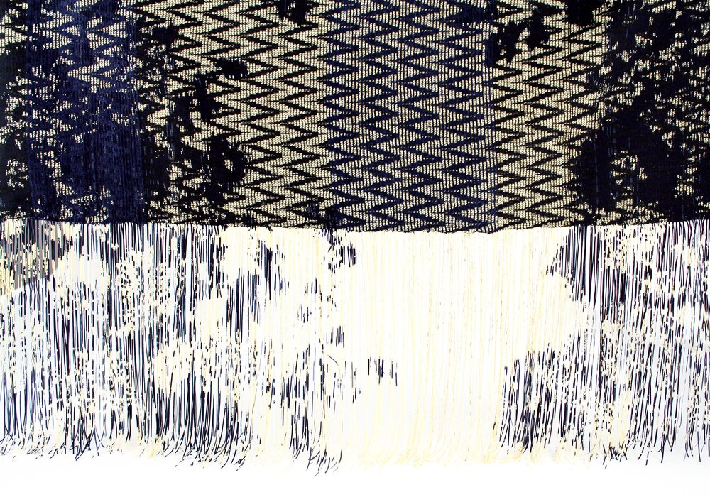 hana's woven textile