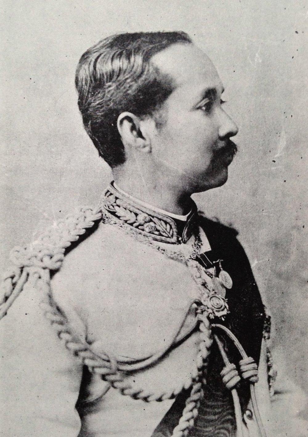 A portrait of King Chulalongkorn