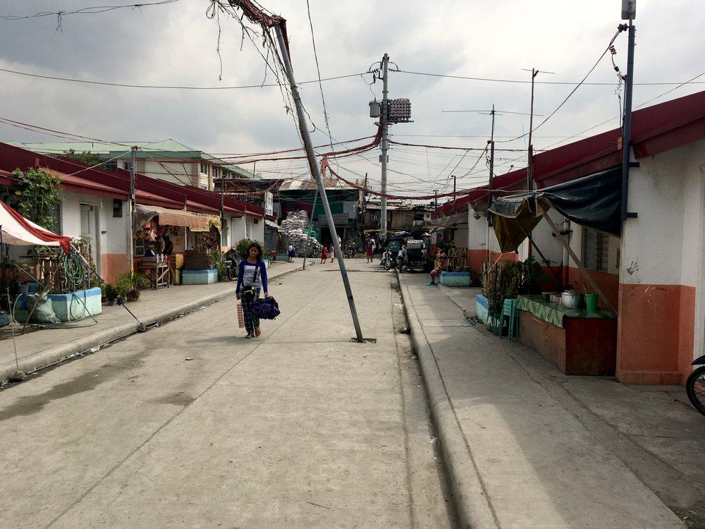 Community led housing project, Tondo, Manila