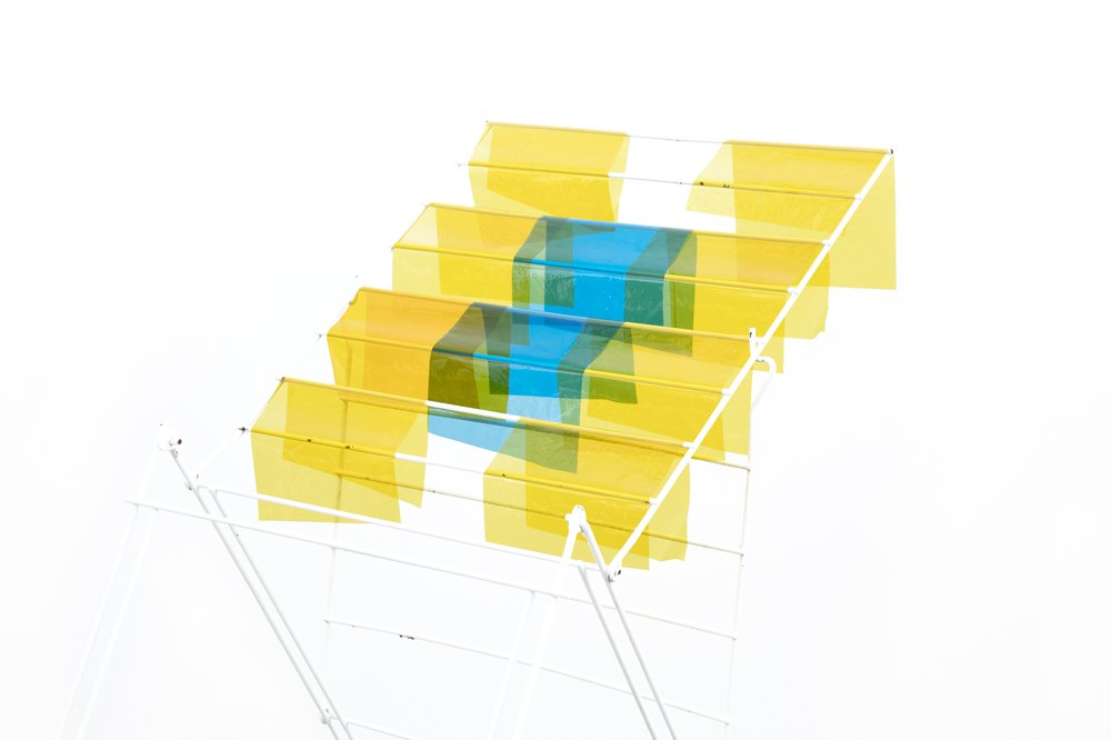 Drying Rack #2 (Yellow & Blue N5A1523)