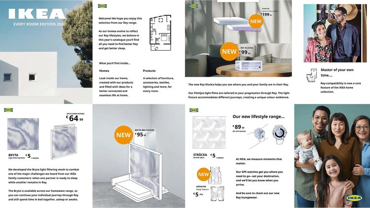 Ikea Rey catalogue, Beatrice Mandelstam & Jess Stein