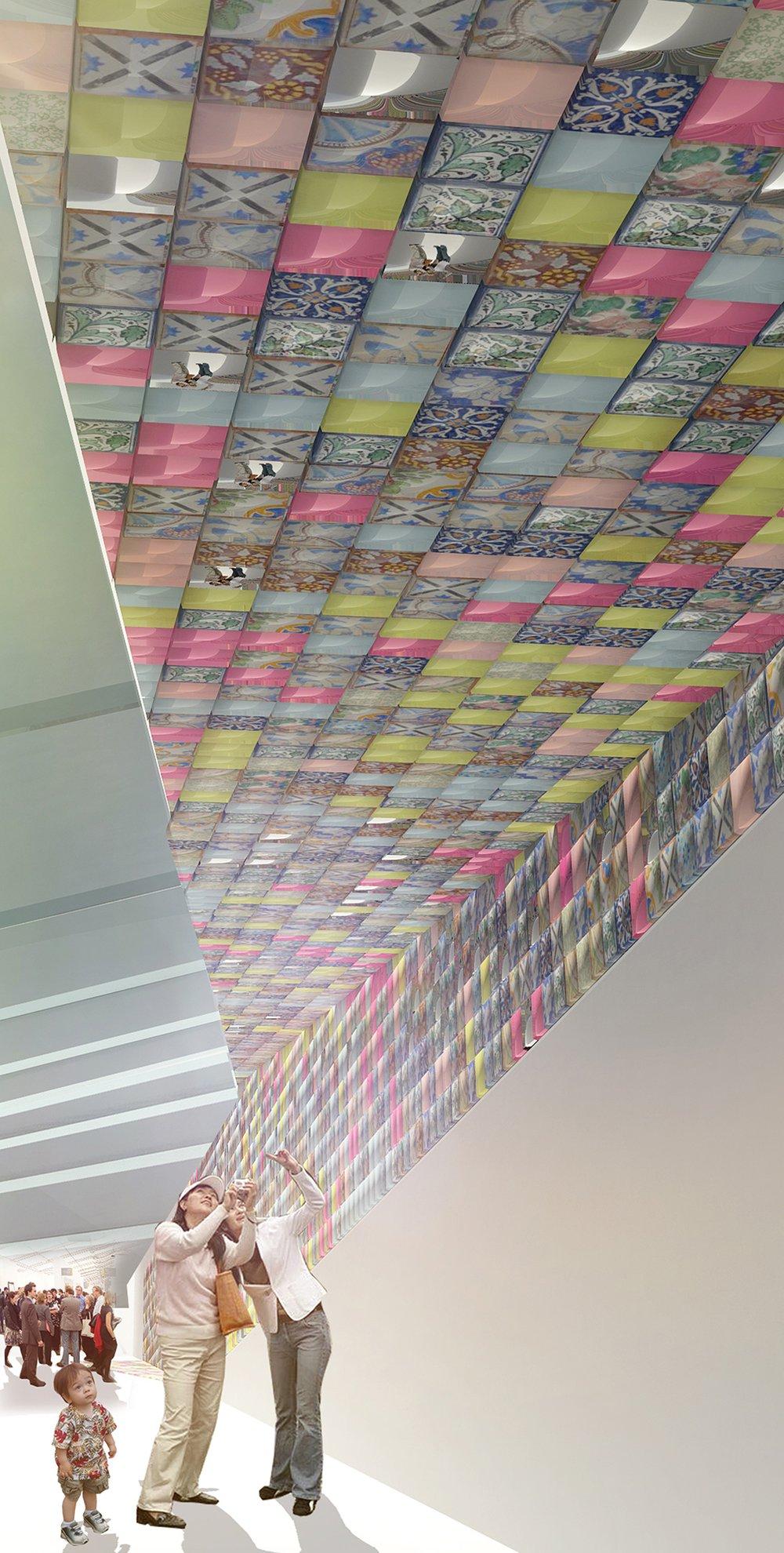 An installation proposal for the Frieze Art Fair