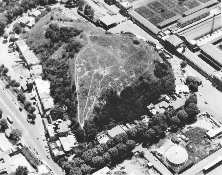 The tendency of the artificial to become natural again. Monte Testaccio is an ancient site made of 50 million crushed olive oil jugs. Source: Archeologica Multimediale Testaccio Aventino