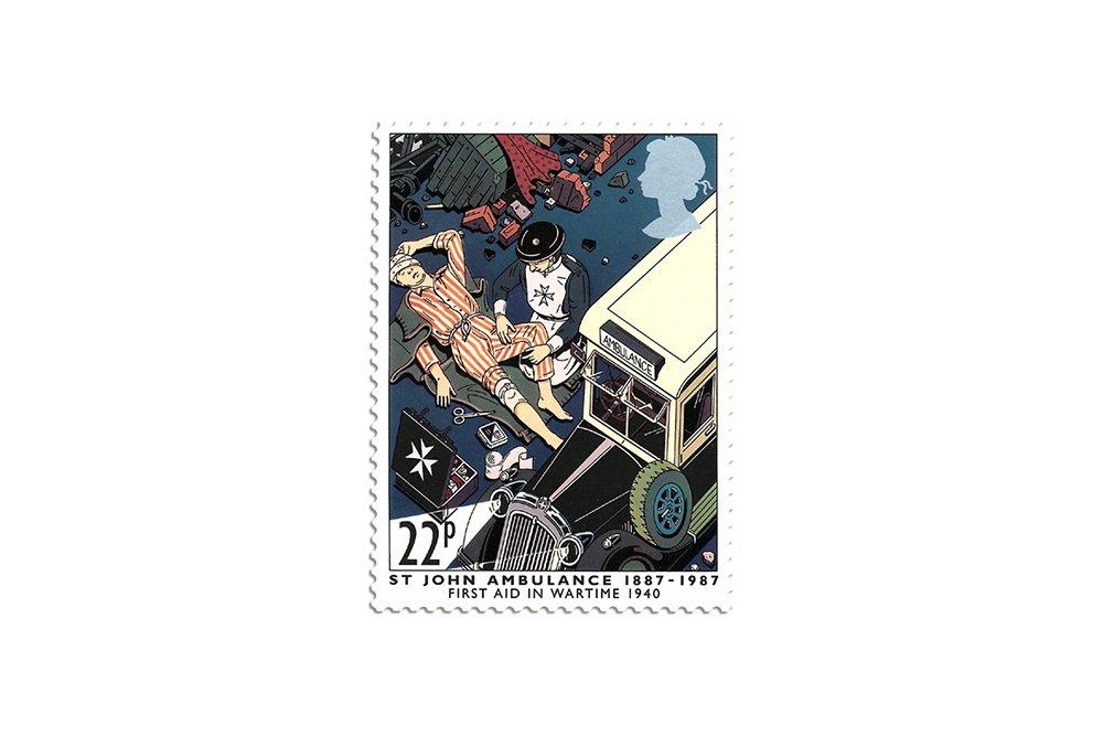 Blitz, (commemorative stamp)