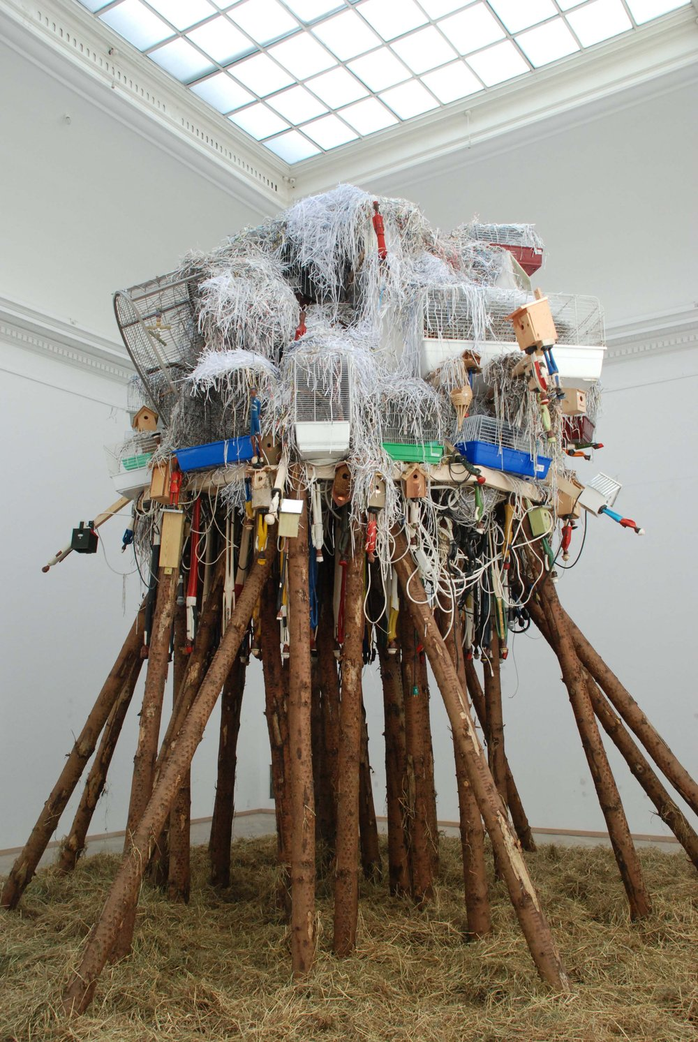 Make Yourself at Home, installation view, Home Sweet Home by Pascale Marthine Tayou, Kunsthal Charlottenborg, 2010