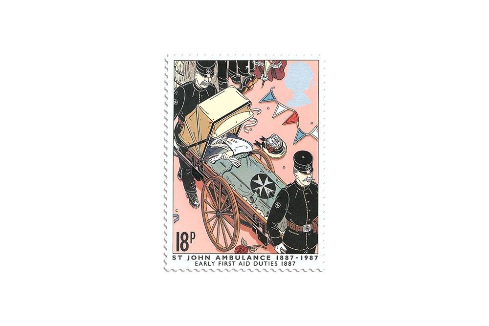 Jubilee, (commemorative stamp)
