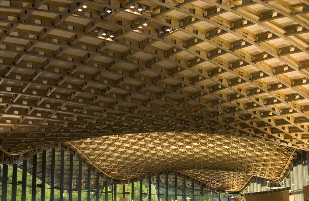 Savill Gardens Visitor Centre, Glenn Howells Architects