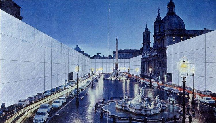 Superstudio, Continuous Monument, 1971