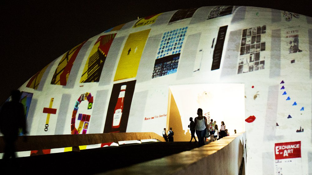 GraphicsRCA: Fifty Years exhibition in Brasilia