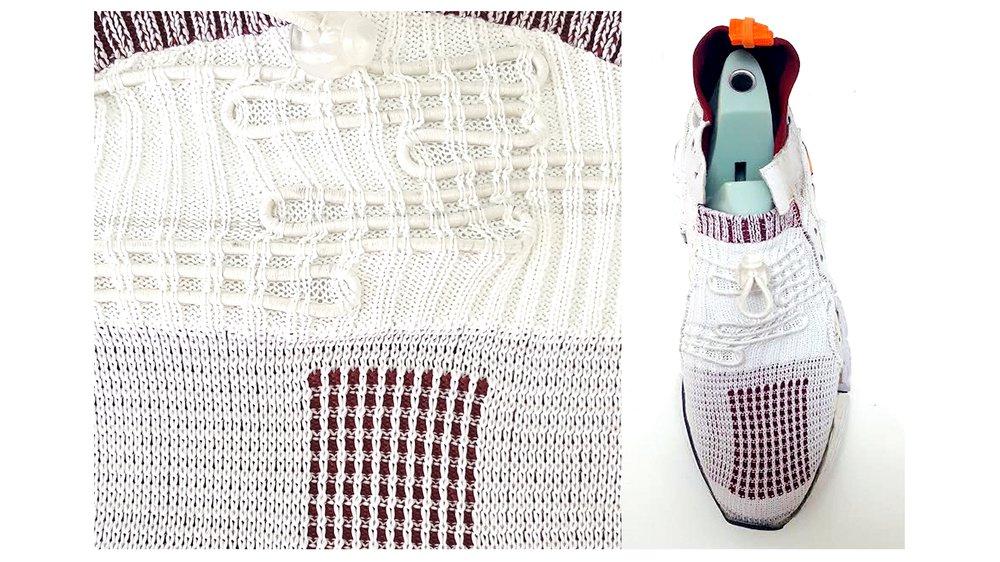 Shoe collaboration with Helen Kirkum