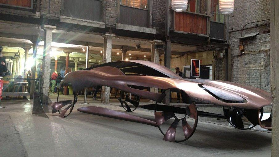 Jaguar Sculpture at Clerkenwell Design Week