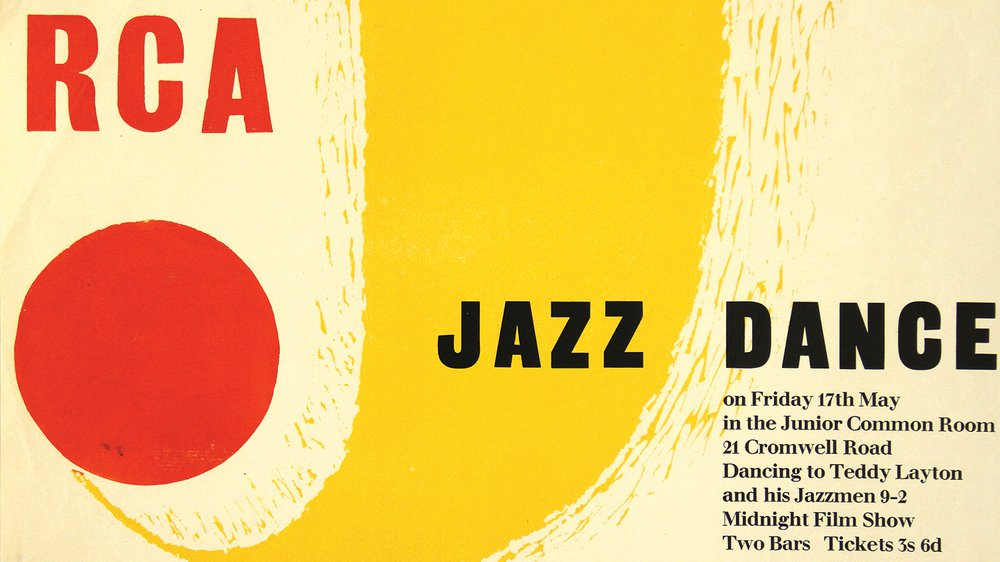 RCA Jazz Dance, n.d., designer unknown, Graphic Design and Illustration archive
