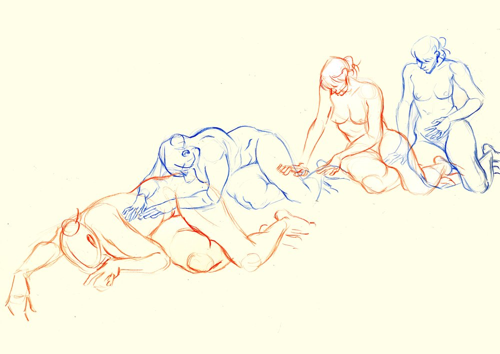 Life Drawing reference