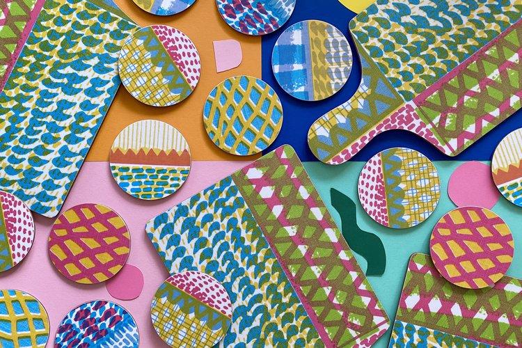Jonna Saarinen print works on plates and paper