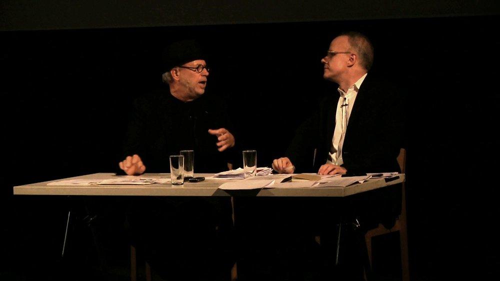Joseph Kosuth & Hans Ulrich Obrist