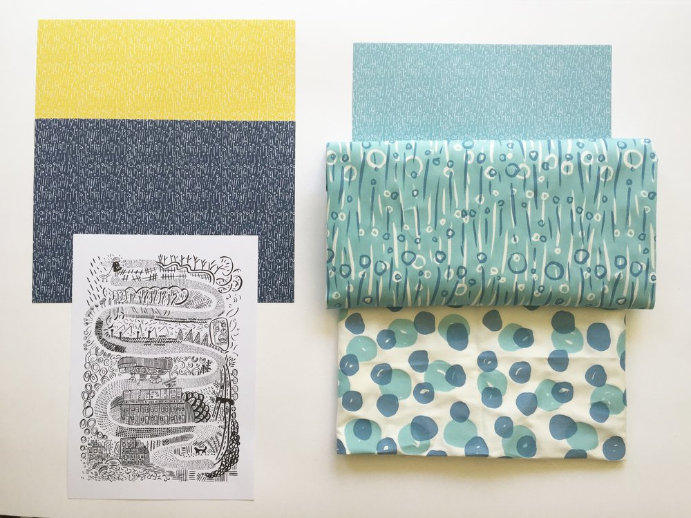 Fabric designs for my show
