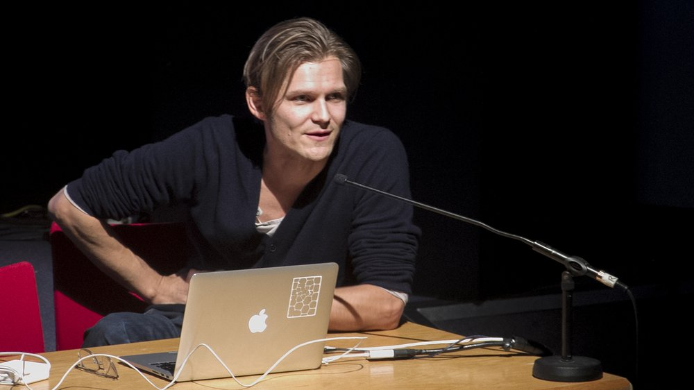 Jussi Ängeslevä: Meaning of Matter Lecture at the Royal College of Art
