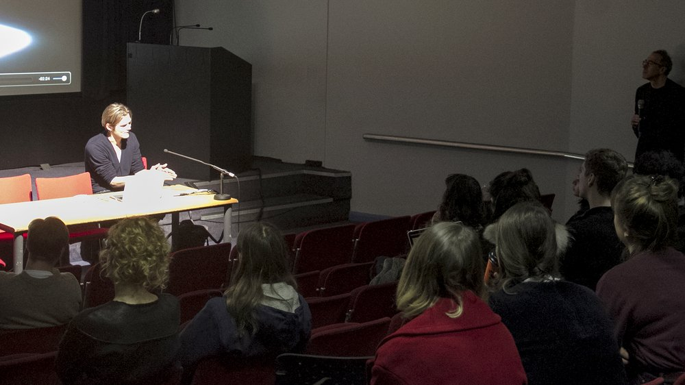 Jussi Ängeslevä, Meaning of Matter Lecture at the Royal College of Art: Q&A