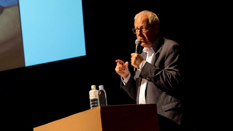 Keynote lecture, Professor Jeremy Myerson at Kyoto Art & Design University