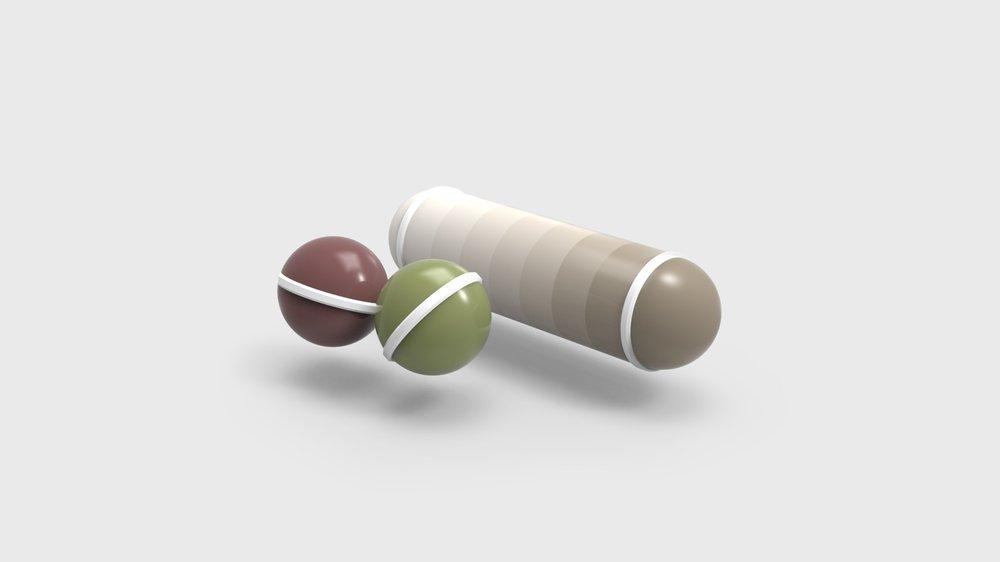 VRadient Colour Balls & Mixer