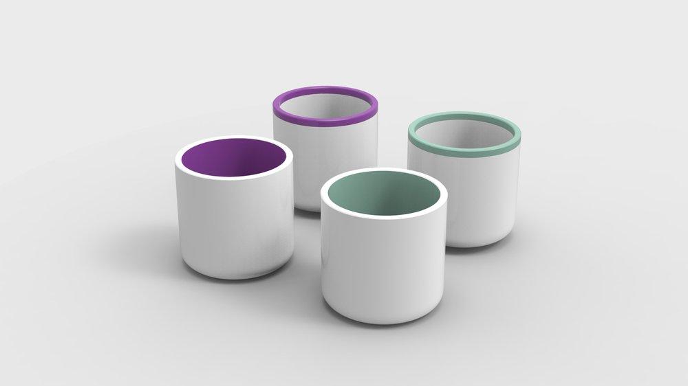 VRadient Colour buckets