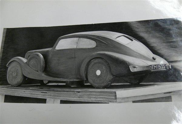 Clay Model by Walter Belgrove, Coventry Transport Museum
