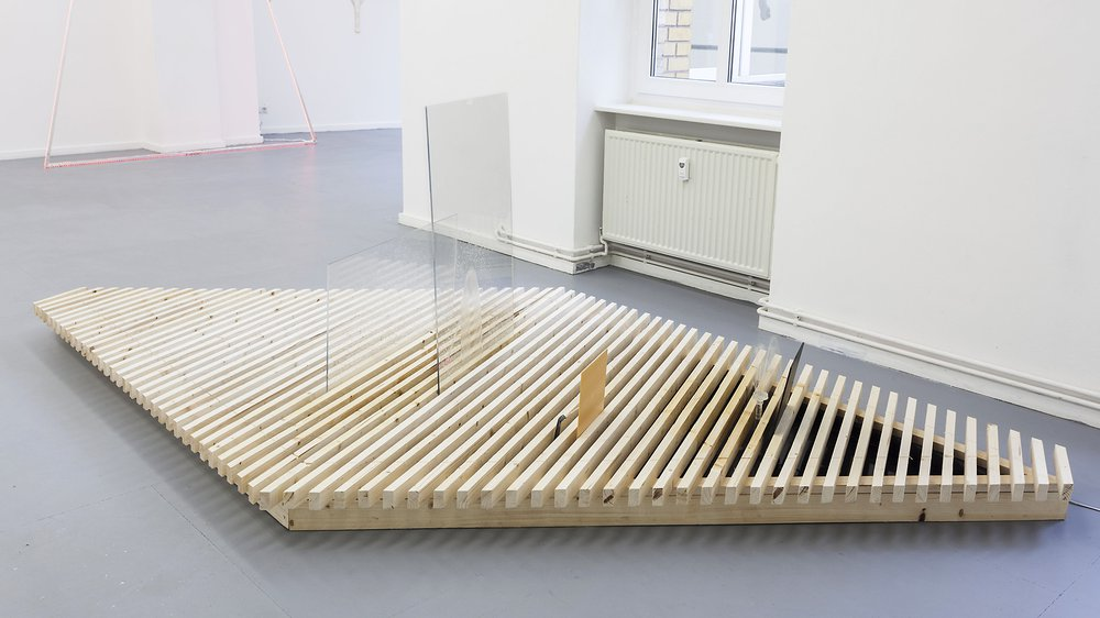 installation view 'Dirty Wellness', L'Atelier KSR, Berlin, 2015