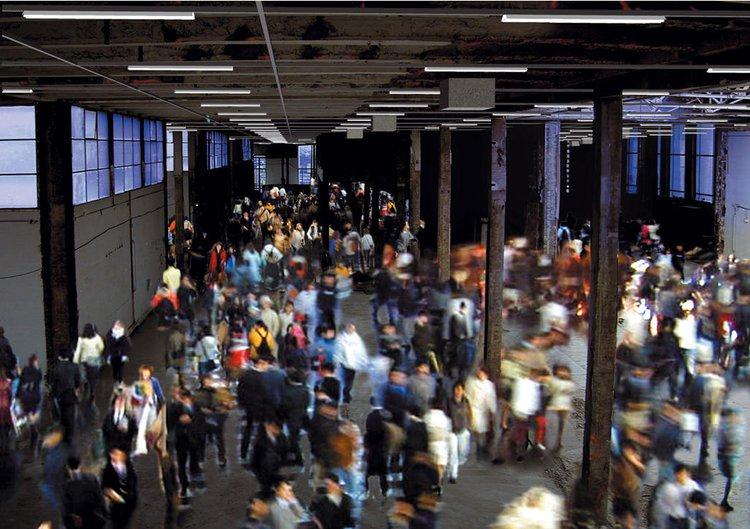 Lacaton & Vassal Architects, Palais de Tokyo, Paris, 2002, digital collage.
