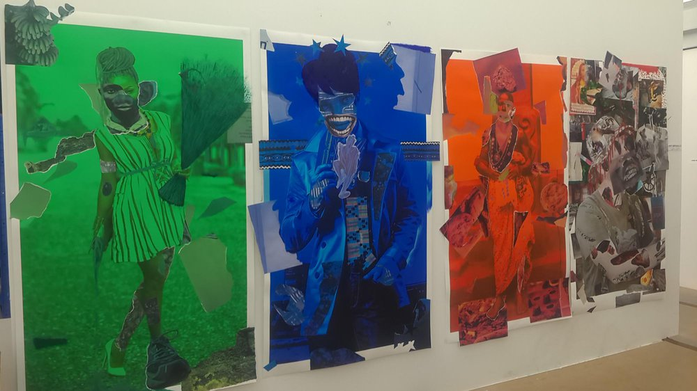Work-in-progress Show 2017: School of Fine Art, Painting, Larry Amponsah