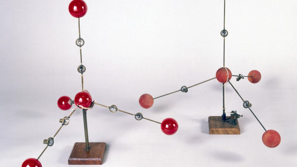 : X-ray Crystallographer Kathleen Lonsdale's model of the structure of ice