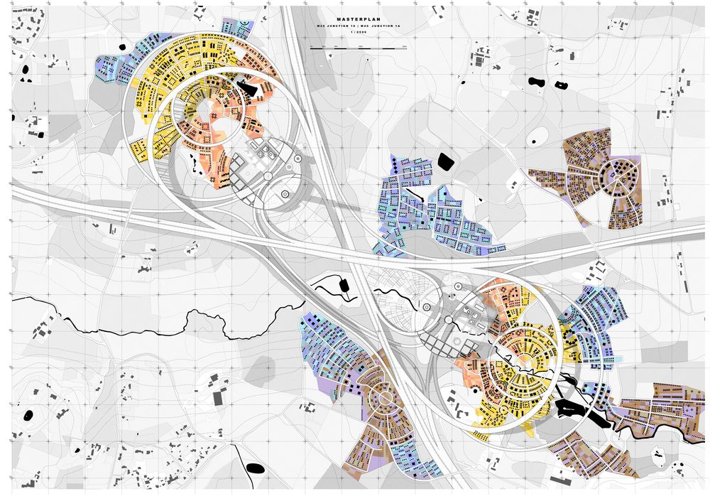 Masterplan | M25 Junction 16 | M40 Junction 1A