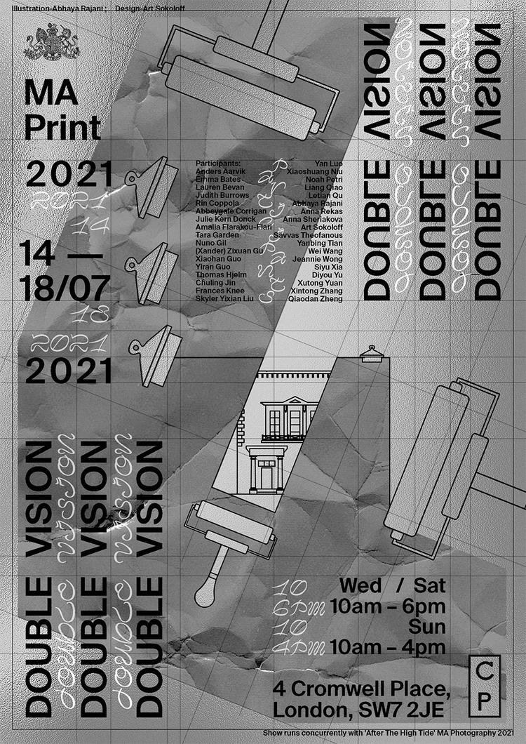 MA Print 2021 Cromwell Place poster