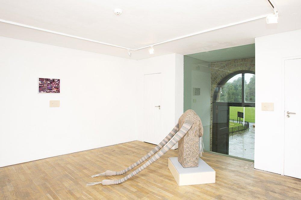 I'm so bloody sad, 2007-2015. Exhibiting alongside: Dorothy Caldwell, Saidhbhín Gibson, Celia Pym and Karina Thompson in What do I need to do to make it OK? Pump House Gallery, Londo