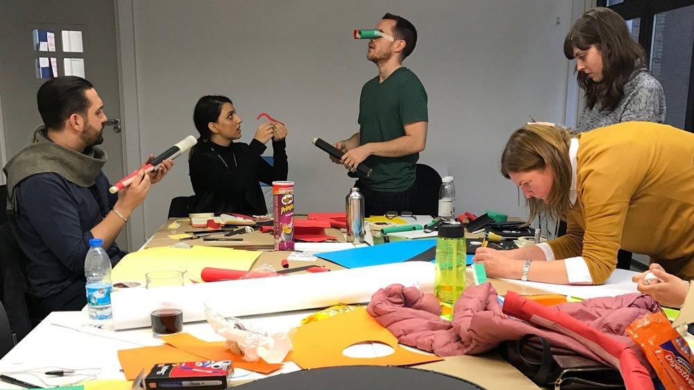 Collaborative design activity
