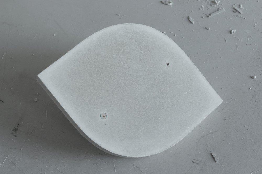 Concrete cam cast for Flip table