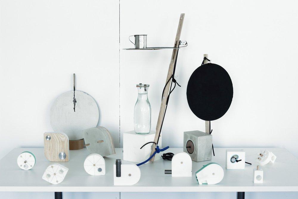 Swing side table design process models