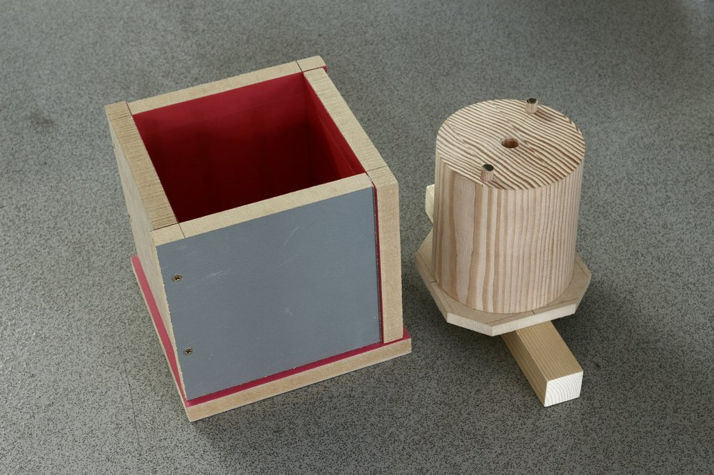 Swing side table acrylic cement base mould