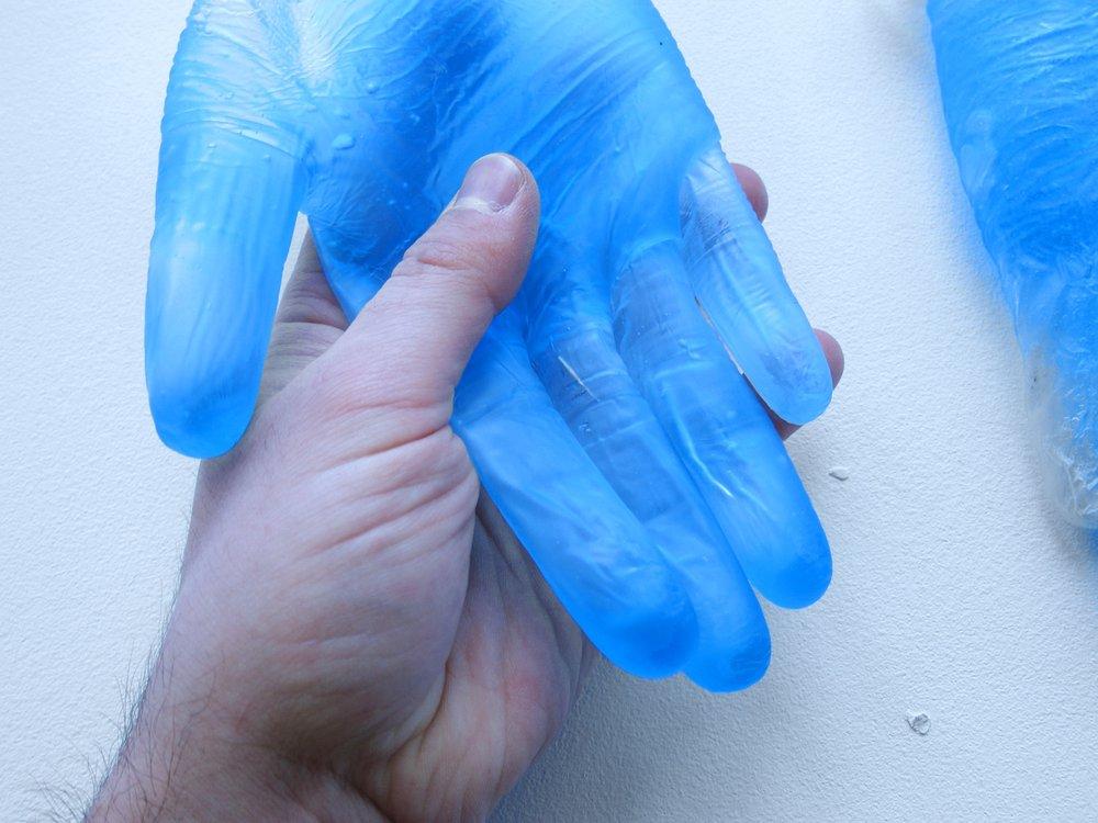 Technogel glove