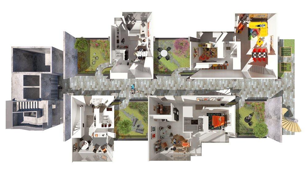 5th Floor Mews Street - Lower Level