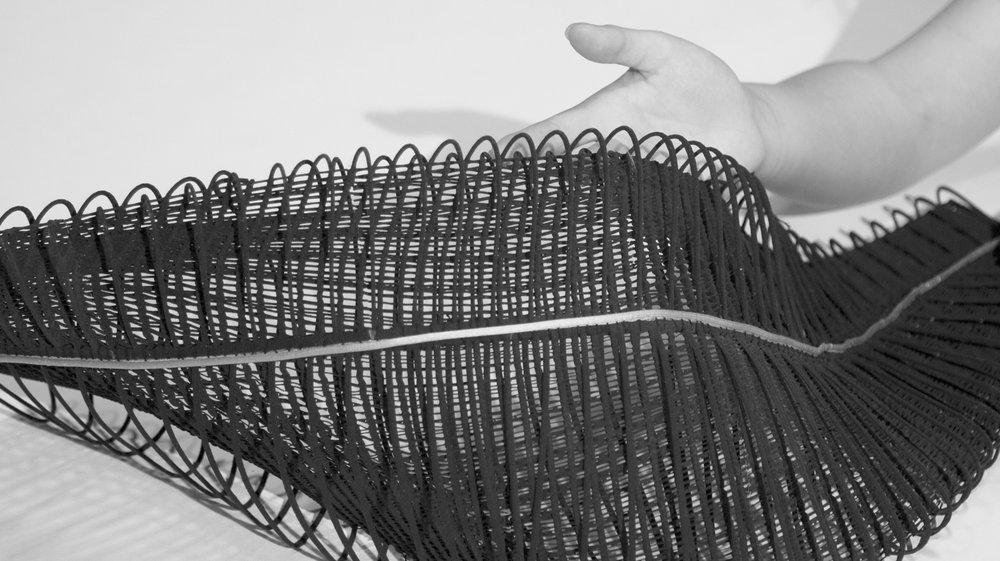 Mingjing Lin - 'Fold the Interfashionality' - Collaboration with Sinterit