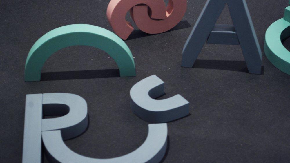 Modular Letter Blocks