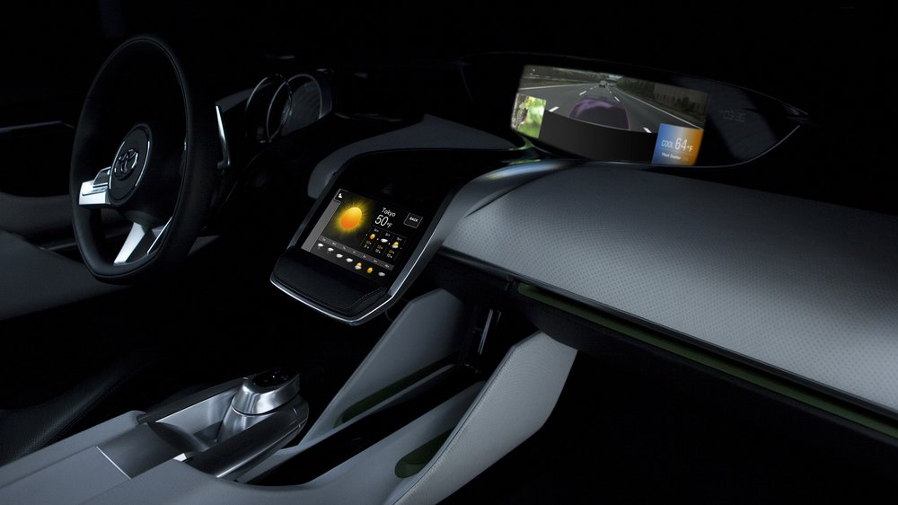 Onboard Infotainment System for NS4, TOYOTA