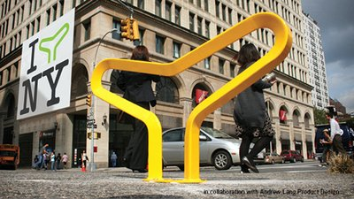 Harry Dobbs Design - NYC stand