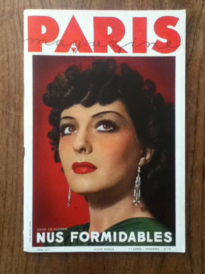 Paris Magazine, n°75, November 1937
