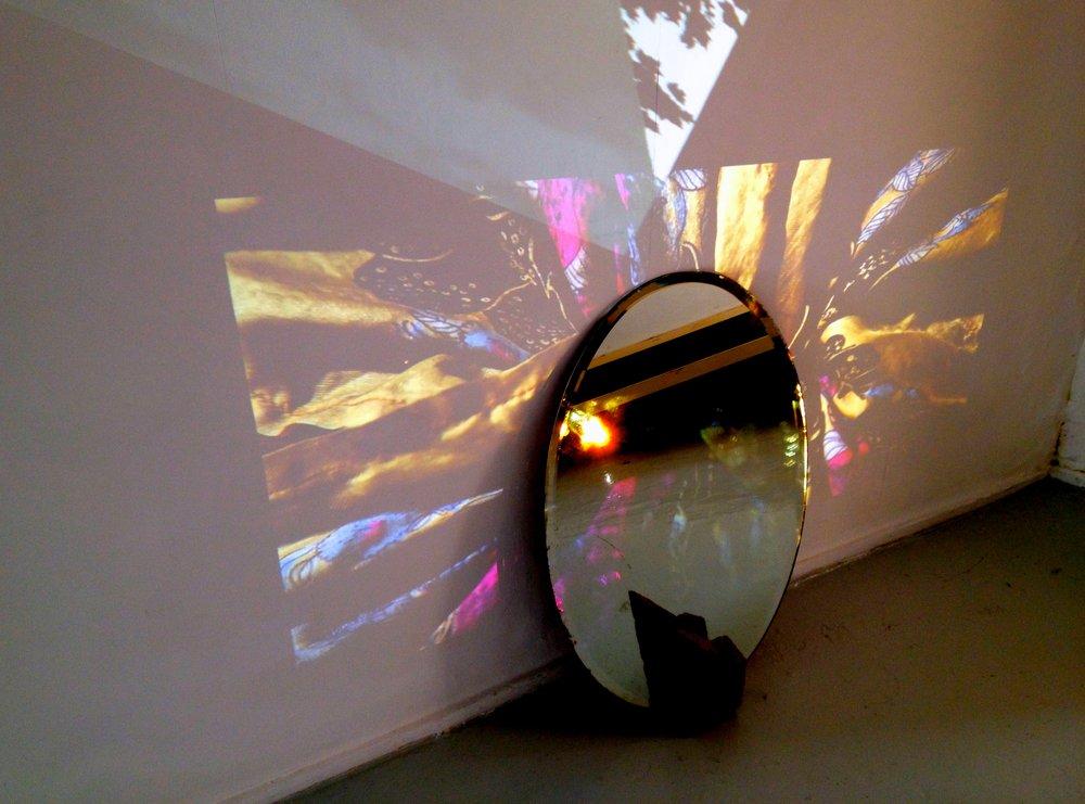 "Ninna Bohn Pedersen in ""Adjacent Practice Colliding Daily"", Acme Project Space, London (2013)"