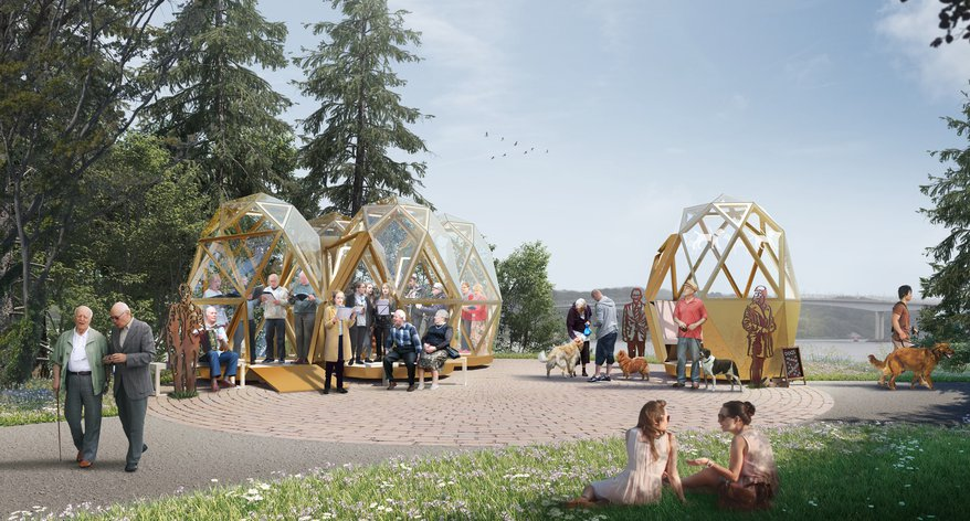 An image of Our Future Foyle design by Helen Hamlyn Centre for Design