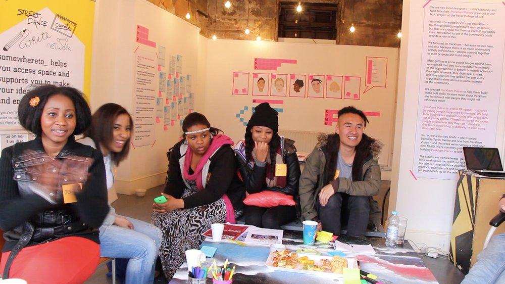 Peckham Pieces – creative workshop